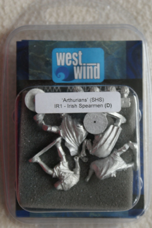Westwind 28mm IR-1 Irish Spearmen
